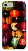 Silk Lanterns In Vietnam IPhone Case
