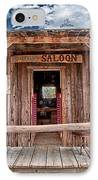 Silver Canyon Saloon IPhone Case