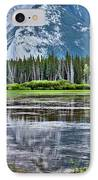 Silver Reflections IPhone Case