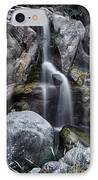 Silver Waterfall IPhone Case