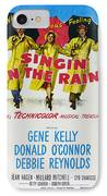 Singin In The Rain IPhone Case by Georgia Fowler