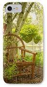 Sit For A While IPhone Case by Margie Hurwich