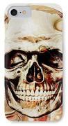 Skull IPhone Case by Anastasiya Malakhova