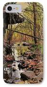 Slate Bottom Creek IPhone Case by Benjamin Yeager