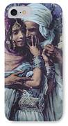 Slave To Love IPhone Case by Alphonse Etienne Dinet