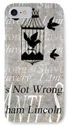 Slavery IPhone Case by Angelina Vick