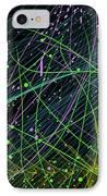 Slinky Celebration IPhone Case by Camille Lopez