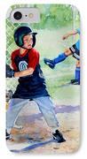 Slugger And Kicker IPhone Case by Hanne Lore Koehler
