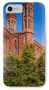 Smithsonian Castle Wall IPhone Case