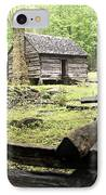 Smoky Homestead IPhone Case by Marty Koch