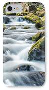 Smoky Mountain Rapids IPhone Case by Victor Culpepper
