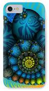 Snail Mail-fractal Art IPhone Case by Karin Kuhlmann