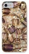 Snakes Head Fritillary Flower Seeds Pattern IPhone Case