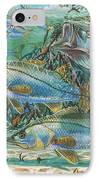 Snook Attack In0014 IPhone Case