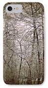Snow Cover Forest IPhone Case by Dawdy Imagery