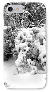 Snow Scene 1 IPhone Case by Patrick J Murphy