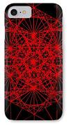 Snowflake Shape Comes From Frequency And Mass IPhone Case