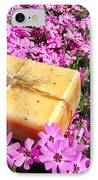 Soap On Flowers IPhone Case
