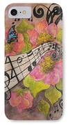 Song Of My Heart And Soul IPhone Case by Meldra Driscoll