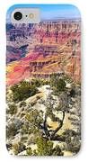 South Rim From The Butte IPhone Case by Robert Bales