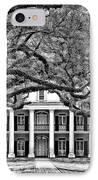 Southern Class Monochrome IPhone Case