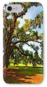 Southern Comfort Painted IPhone Case by Steve Harrington