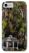 Southern Gothic In Mount Dora Florida IPhone Case by Christine Till