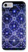 Space Time At Planck Length Vibrating At Speed Of Light Due To Heisenberg Uncertainty Principle IPhone Case by Jason Padgett