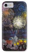 Sparklers IPhone Case by Cynthia Ring