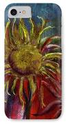 Spent Sunflower IPhone Case
