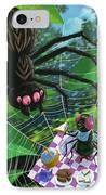 Spider Picnic IPhone Case