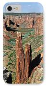 Spider Rock Canyon De Chelly IPhone Case by Christine Till