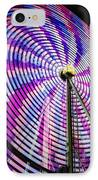 Spinning Disk IPhone Case by Joan Carroll