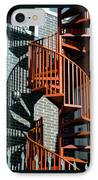 Spiral Stairs - Color IPhone Case