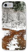 Split Decision IPhone Case by Marilyn Hunt