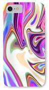 Split Personality IPhone Case by Chris Butler