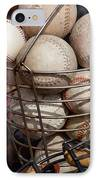 Sports - Baseballs And Softballs IPhone Case by Art Block Collections