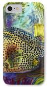 Spotted Trunkfish IPhone Case by Carol Wisniewski