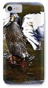 Spread Your Wings IPhone Case by Susan Leggett