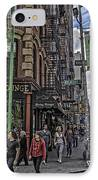 Spring And Mulberry - Street Scene - Nyc IPhone Case by Madeline Ellis