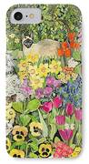 Spring Cats IPhone Case by Hilary Jones