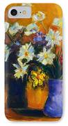 Spring Flowers In A Vase IPhone Case