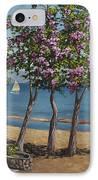 Spring In Kings Beach Lake Tahoe IPhone Case