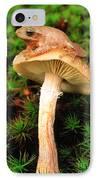 Spring Peeper On Mushroom IPhone Case