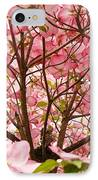Spring Pink Dogwood Tree Blososms Art Prints IPhone Case by Baslee Troutman