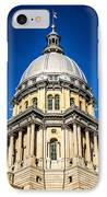 Springfield Illinois State Capitol Dome IPhone Case
