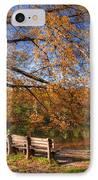 Springtime Fire IPhone Case by Debra and Dave Vanderlaan