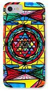 Sri Yantra IPhone Case by Teal Eye  Print Store