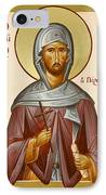 St Anastasios The Persian IPhone Case by Julia Bridget Hayes