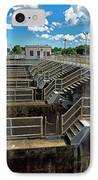 St Lucie Lock And Dam IPhone Case by Dan Dennison
